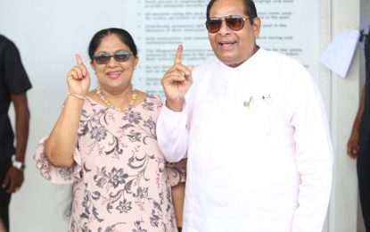 """Voting at LGE is a civic right and must not be taken lightly"" – PM Nagamootoo"