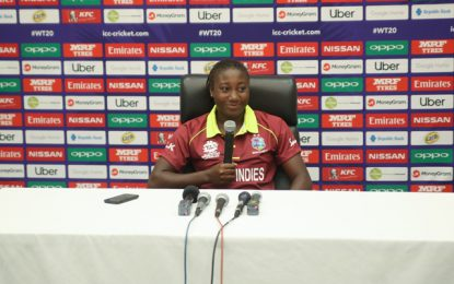 Windies women confident ahead of first T20 match tomorrow