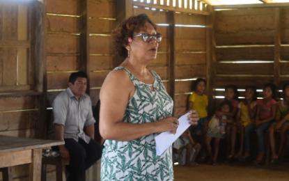 Kurukabaru residents updated on Lapidary project