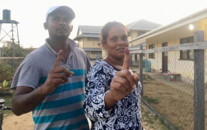 Polls closed – rush to cast ballot before 6pm