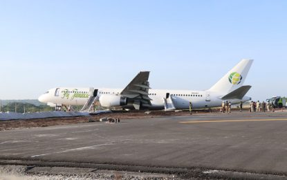 Fly Jamaica flight makes emergency landing at CJIA