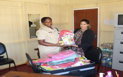SDC DONATED SCHOOL SUPPLIES TO THE GUYANA POLICE FORCE (GPF)