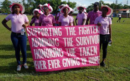 Hundreds participate in Linden Cancer Awareness Walk