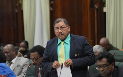 'Stop operating like crabs in barrel, we have a country to build'- Minister Allicock to the Opposition