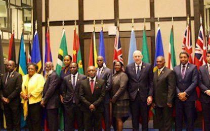 """CARICOM heads meet in Trinidad to discuss the CSME"""