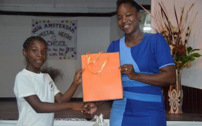 New Amsterdam Special Needs School observes International Day of Disabled Persons