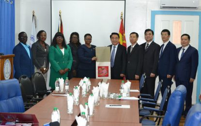 Jiangsu Province, China extends hand of cooperation with Guyana to modernise healthcare
