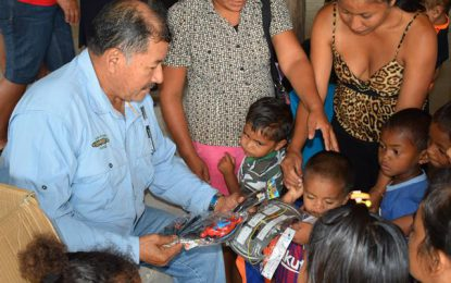 Govt's toy drive taken to Region Nine
