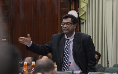 Minister Ramjattan calls out opposition's scaremongering