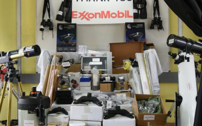 ExxonMobil donates over $8.3M in equipment to UG