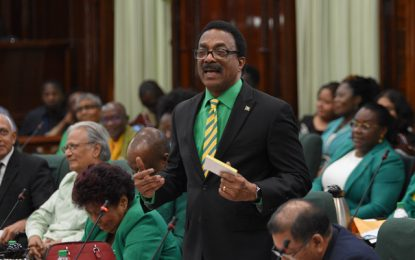 "AG Williams reminds House of ""dark page"" under PPP"