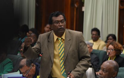 """PPP's defence of no-confidence motion an """"alarming nothing"""" – Min. Ramjattan"""