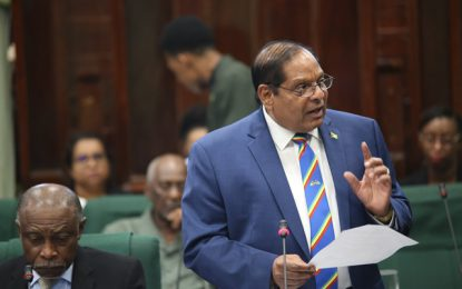Govt's interest was to save sugar industry – Prime Minister Nagamootoo