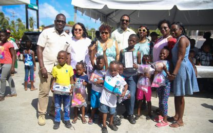 Social Protection toy drive kicks off in Buxton and Lusignan