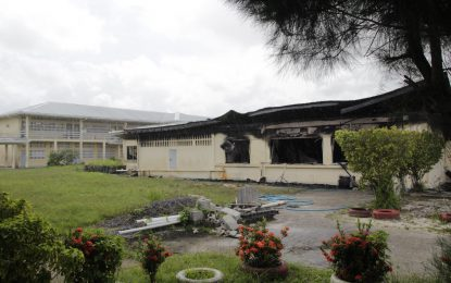 Fire destroys Diamond Secondary School Administrative Building