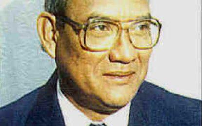 Former Govt Minister Francis Vibert DeSouza dies