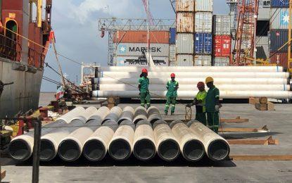 ExxonMobil Liza Phase 1 – Saipem Pipe offload