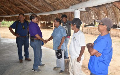 Min. Allicock concludes four-day outreach in South Rupununi