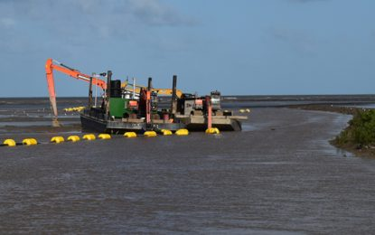Country's first-ever Cutter Suction Dredge improving drainage in West Berbice