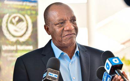 Minister Harmon backs President Granger for second term
