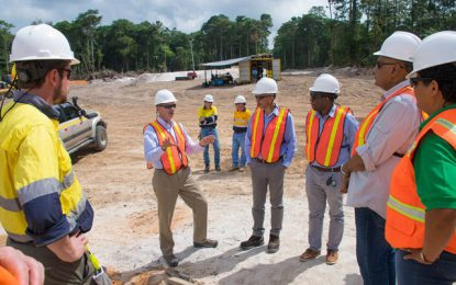 """Guyana now boasts three bauxite mining operations"" – Min. Trotman"