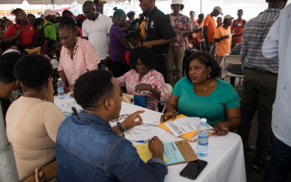 CH&PA takes affordable housing programme to Stabroek Market Square