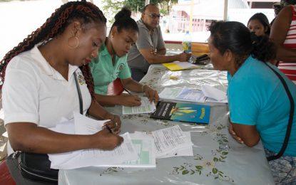 Multi-stakeholder team assessing migrant influx in Region 7