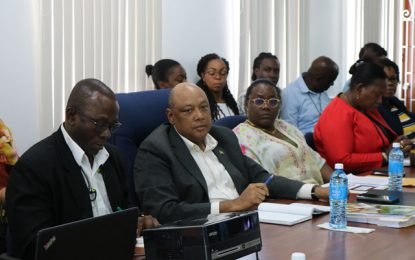Ministry of Natural Resources holds annual sector review