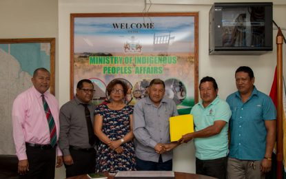 MOU signed to address land titling for Indigenous peoples
