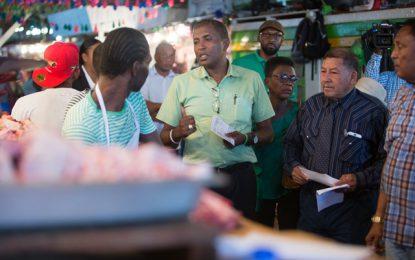 Govt promise to address Bourda Market stall-holders, vendors issues