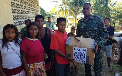 CDC continues relief exercise for Venezuelan migrants