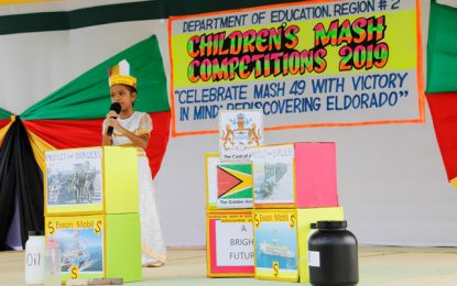 Region Two's Children's Mashramani Competition begins with Dramatic Poetry and Calypso