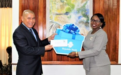 RBL hands over $3M towards 2019 steel pan competition