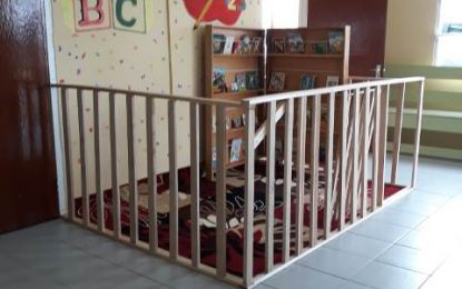 Region 3 health centres now have reading corners