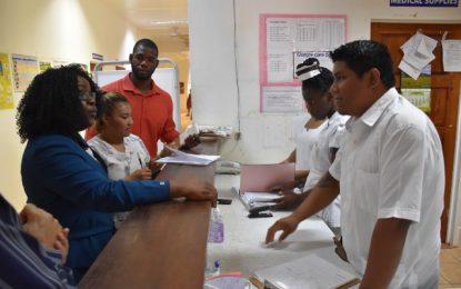 Upward mobility in Lethem health services – Min. Karen Cummings