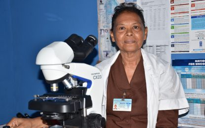 Lethem grandmother blazing trail as Microscopist