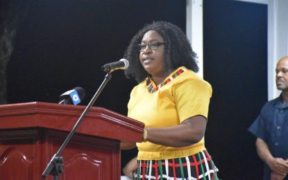 Fashion a nation, reflective of our motto – Min. Karen Cummings