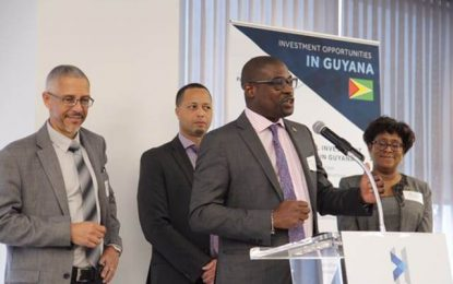 Int'l oil contractor encourages investment in Guyana
