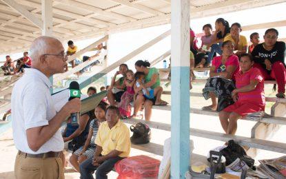 Rupertee, Kwatamang farmers water woes eased