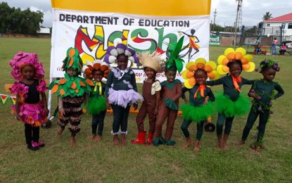 Children's Mash competitions' performances captivate audience in Linden