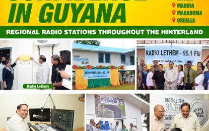Guyana celebrates 40 years in radio broadcasting