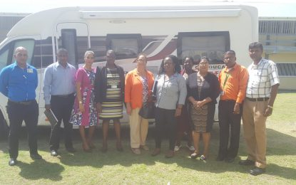 Education Ministry's Mobile Counselling Unit lends support in Reg. 6