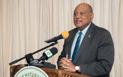 Natural Resources Ministry signs pact with Toshaos to establish and maintain communications