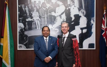 New Zealand High Commissioner presents Letters of Credence