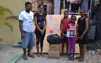Social Protection aids fire victims