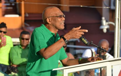 'Not David vs. Irfaan', it's about the future of our children – Pres. Granger