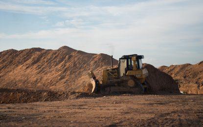 Sanitary landfill for Lethem