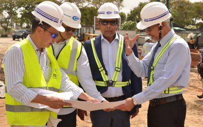Pegasus Suites construction well underway