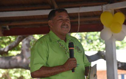 We cannot afford disunity – Min. Allicock to residents of Karasabai