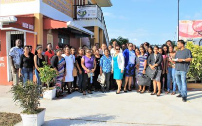 Minister Norton engages Port Mourant Youths